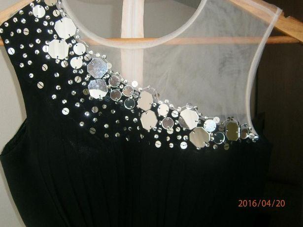 Sukienka Little Mistress tiulowa na wesele studniówkę rozm. 38, UK 10