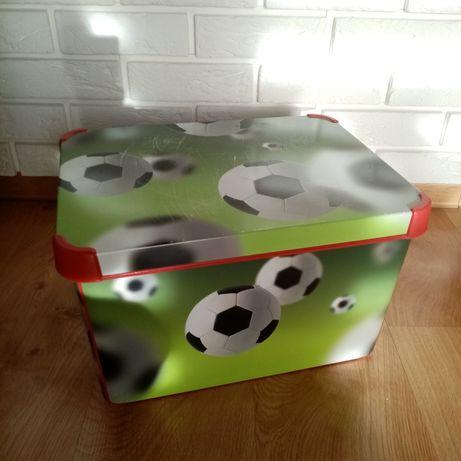 Pudełko curver deco XL piłki