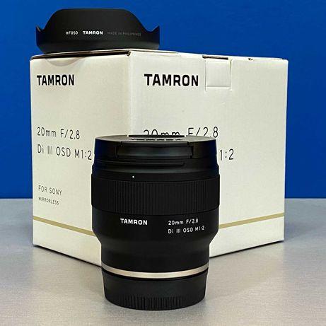 Tamron 20mm f/2.8 Di III OSD (Sony FE) - NOVA - 5 ANOS DE GARANTIA