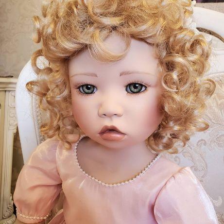 фарфоровая коллекционная кукла от Кристин Оранж Orange