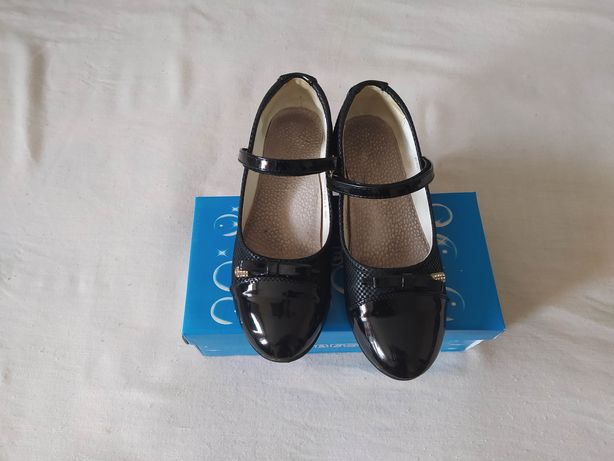 Черные туфли на девочку 35 размер