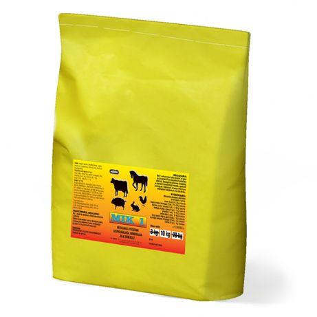 Mik 1 10kg mieszanka witaminy dla bydła koni owie