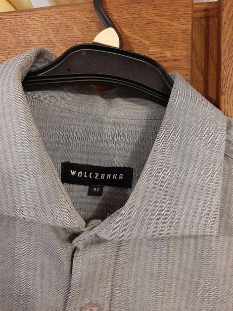 Koszula męska wólczanka 42