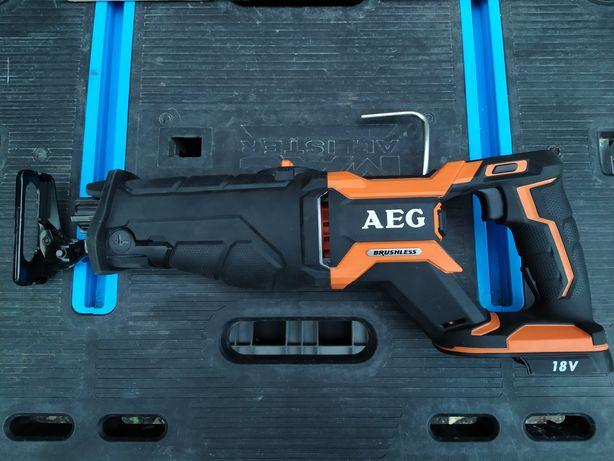 Бесщеточная сабельная пила AEG BUS18BL(15,000₽)