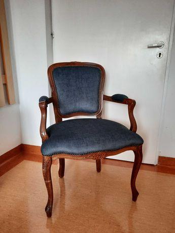 Fotel w stylu Ludwik, krzesło, antyk