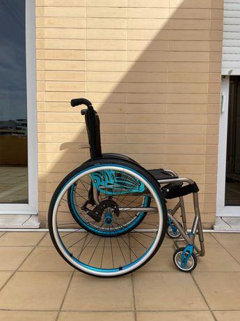Cadeira de Rodas Ultraleve Titânio