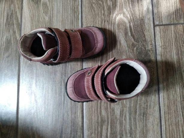 Ecco 22р. Чобітки, черевички.
