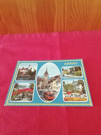 Postal Suíça antigo