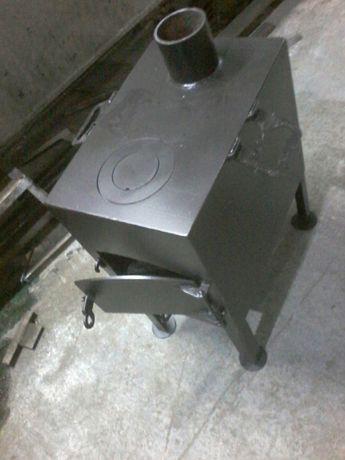 Буржуйка 3мм заводска.камин.печка.топка.кухня полевая.польова.боржуйка