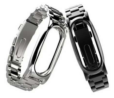 Bracelete metálica p/ Mi Band 3