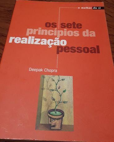 Livro Sete Princípios da Realização Pessoal (Deepak Chopra)