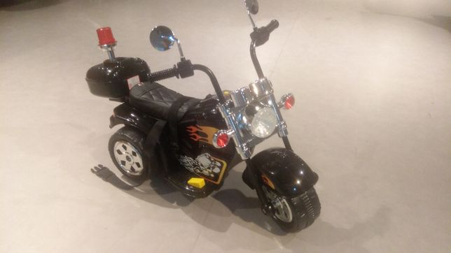 Motor motorek chopper autka autko na akumulator zabawki samochód