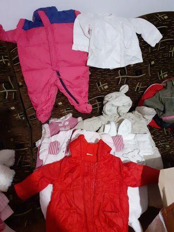 Ubranka dla dziewczynki różne rozmiary cena 3zl szt