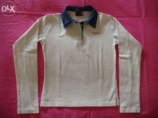 Polo de manga comprida da Tiffosi, 10 - 12 anos