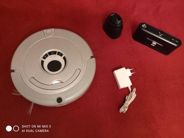 Odkurzacz Robot sprzątający carneo SAMBA XR210 komplet sprawny FILM