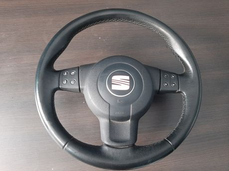 Seat Leon II Altea kierownica wielofunkcyjna