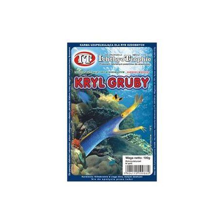 Kryl gruby blister 100g pokarm mrożony ryba akwarium Waterworld
