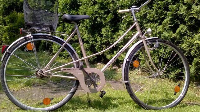 rower damski dwururka