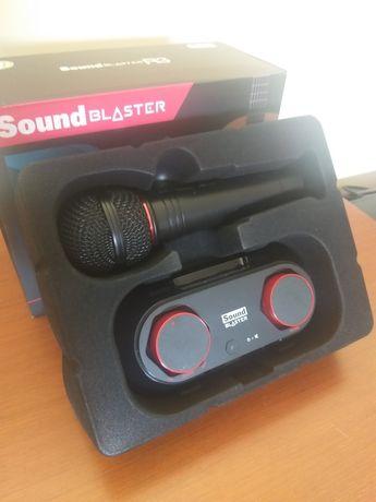 Mesa de som sound blaster r3