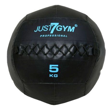 Piłka Lekarska Wall Ball Premium 5 kg Just7Gym Piłka Treningowa