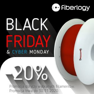 Filament PET-G Fiberlogy -20% Black Week + Cyber Monday 2020 Rzeszów