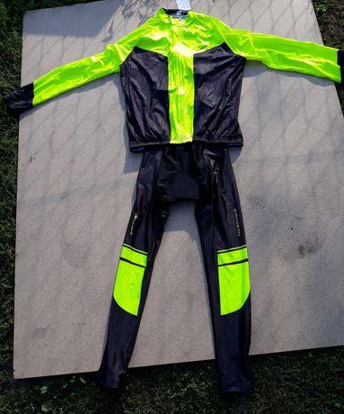 OKAZJA! Strój kolarski rowerowy długi jesienny zimowy bluza spodnie