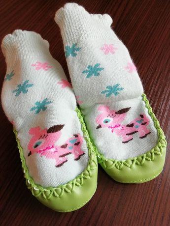 Носки чешки мокасины пинетки