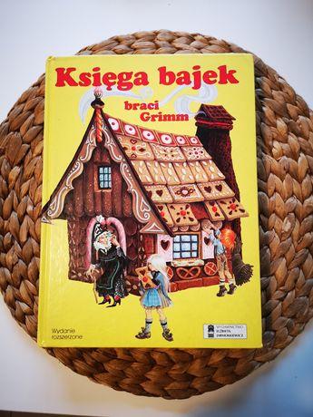 Ksiega bajek braci Grimm wyd. Elżbieta Jarmolkiewicz