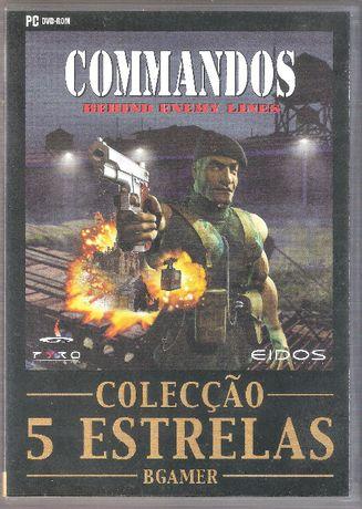 Jogo PC DVD-ROM Comandos Behind Enemy Lines