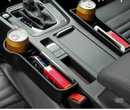 Organizer pojemnik uchwyt schowek do samochodu dokumenty kawę napój