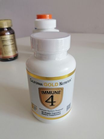 California Gold Nutrition Immune 4, 180 капсул