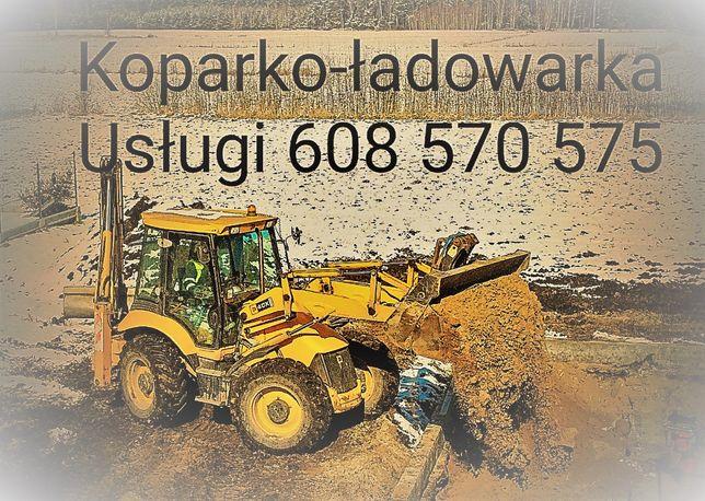 koparko-ładowarka jcb 4cx,koparka roboty ziemne odśnieżanie Olsztyn
