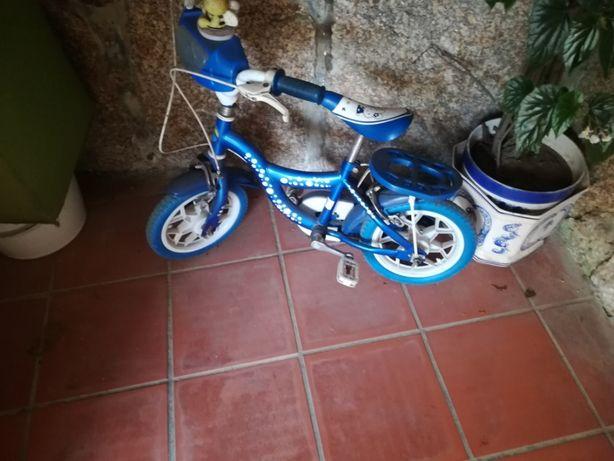 Bicicleta criança R16 azul