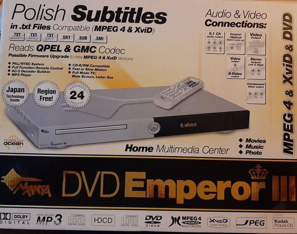 Odtwarzacz DVD Manta Emperon III