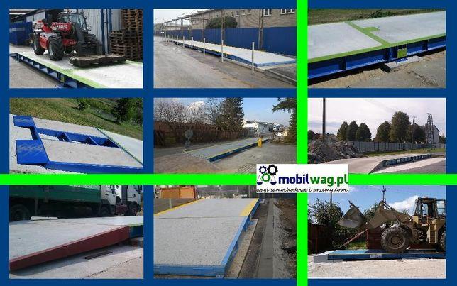 Waga samochodowa 18metrów Stalowo - Betonowa 50 60t 50 60ton