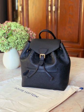 Черный рюкзак LV louis viitron dior chanel