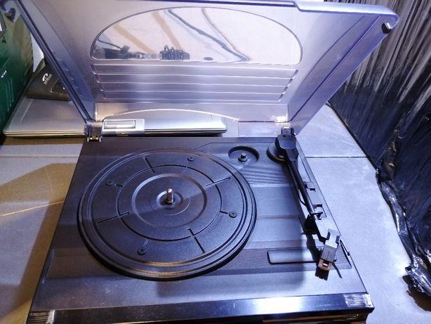 Gramofon z konwerterem MP3 Millenium płyty