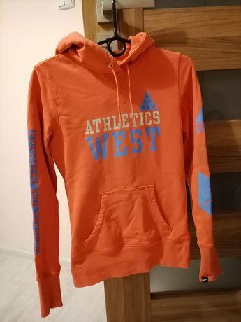 Pomarańczowa bluza Nike rozmiar S