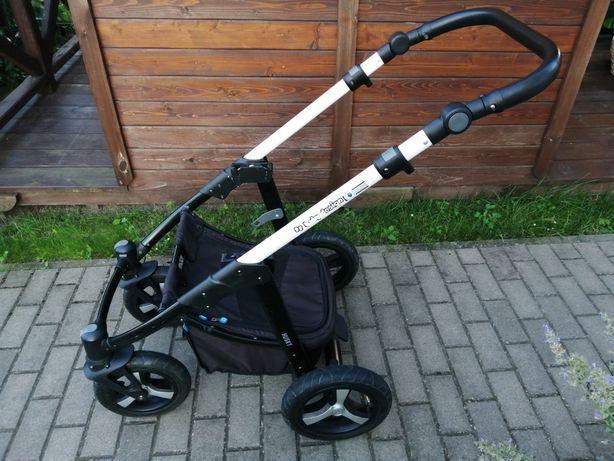 Wózek baby design husky - pełny zestaw