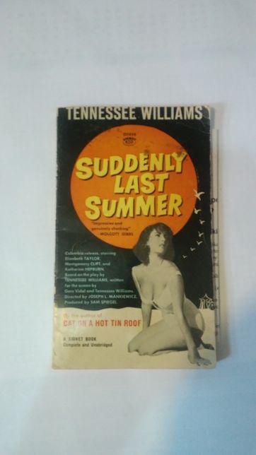 suddenly last summer książka w języku angielskim t. williams 1960 rok