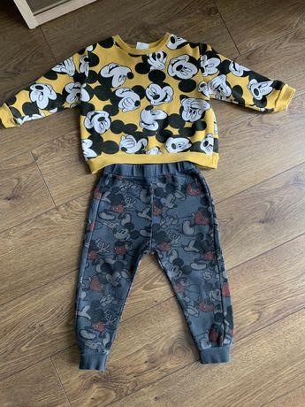 Спортивный костюмчик комплект с микки zara baby next h&m