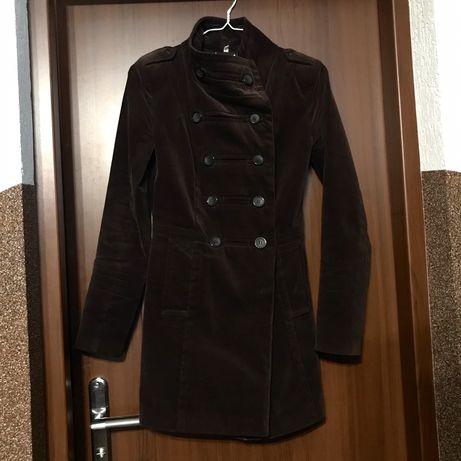 Вельветове пальто