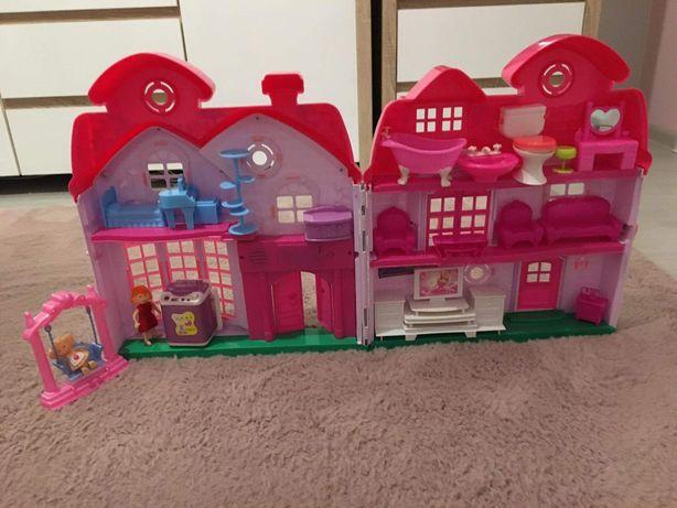 Domek z akcesoriami dla dziewczynki