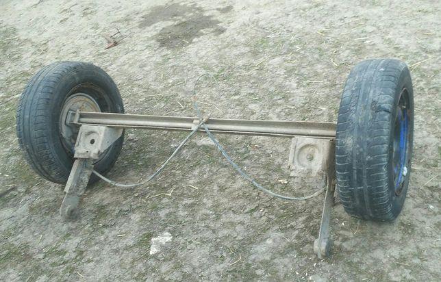 Задня балка АЗЛК2141 + колеса
