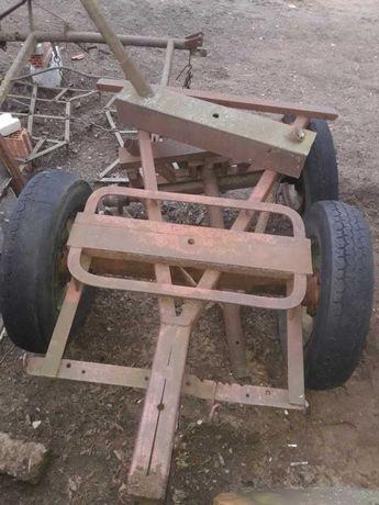 wóz konny stalowy