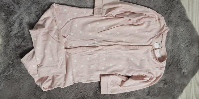 Piżamka H&M dla dziewczynki rozmiar 92