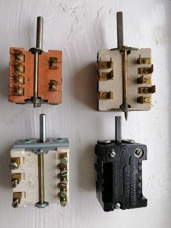 Переключатель для електроплит