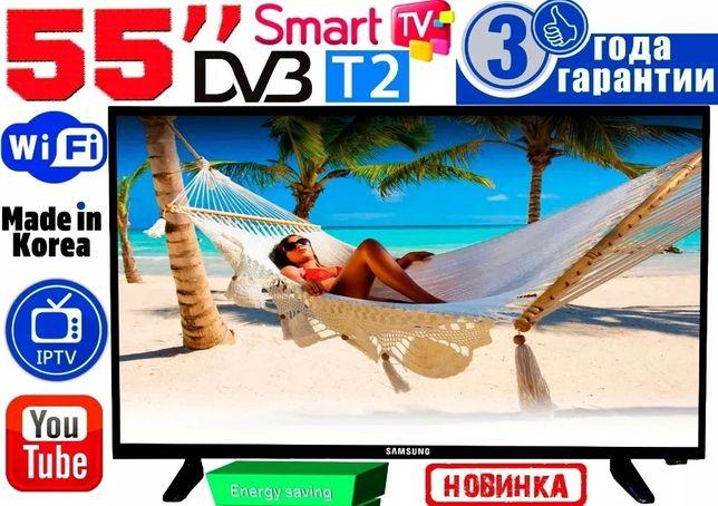 "Телевизоры Samsung SmartTV 55"" 4K 3840x2160,LED, 2/8GB, Android Корея"