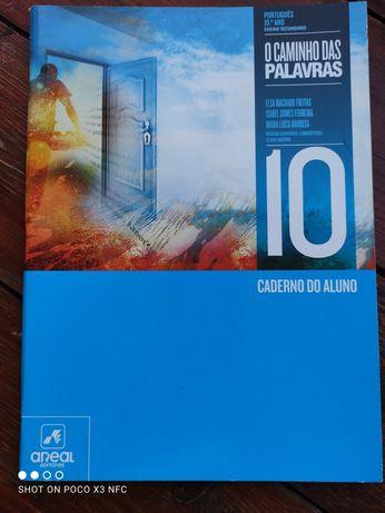 Livro de fichas 10 ano Português - O Caminho das palavras