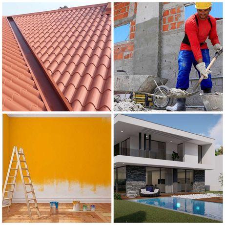Remodelações gerais Moradias, Apartamentos, Lojas comerciais